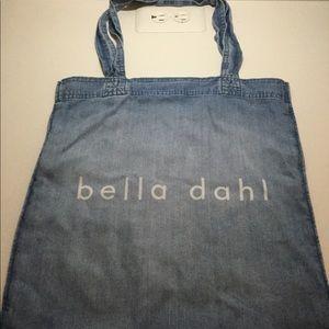 Bella Dahl soft denim tote bag